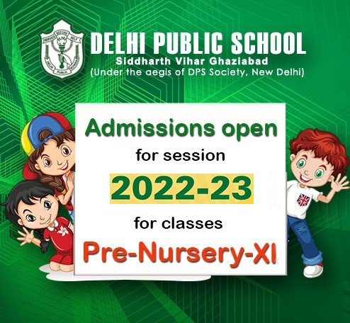 Admission Open for session 2019-20